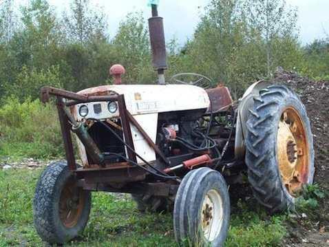 1970_David_Brown_880_Diesel_Tractor