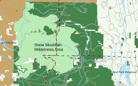 Proposed Berryessa Snow Mountain National Conservation Area