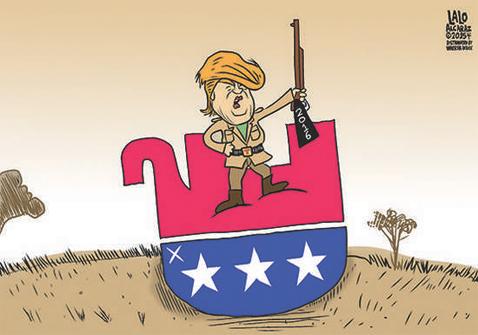 TrumpTromping