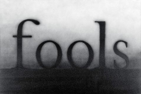 """Fools"" by Ed Ruscha, courtesy, SFMOMA"