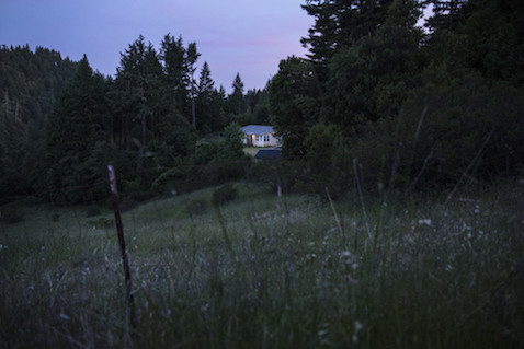 The home at 16380 Bluejay Lane, where human trafficking victims were allegedly held, is seen in Willits, CA, on May 12, 2016. (Andrew Burton for The Center for Investigative Reporting)