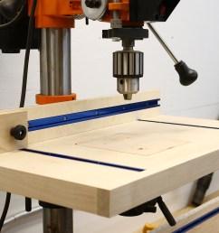 simple drill press table [ 1920 x 1080 Pixel ]