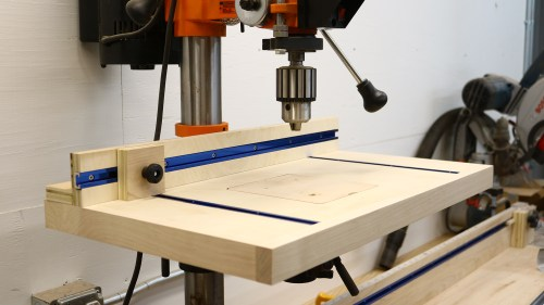 small resolution of simple drill press table