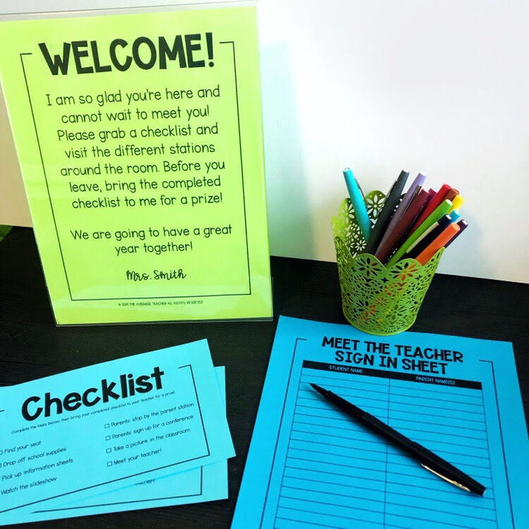 Back to School Tips - Never Underestimate Meet the Teacher Night!