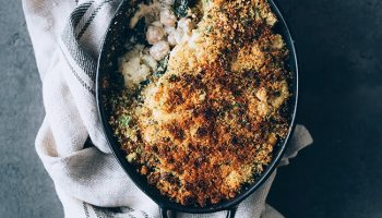 Cumin Roasted Cauliflower with Black Lentils | The Awesome Green