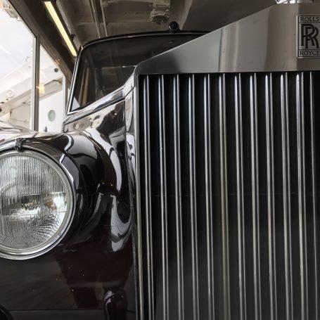 Rolls Royce on the Royal Yacht Britannia