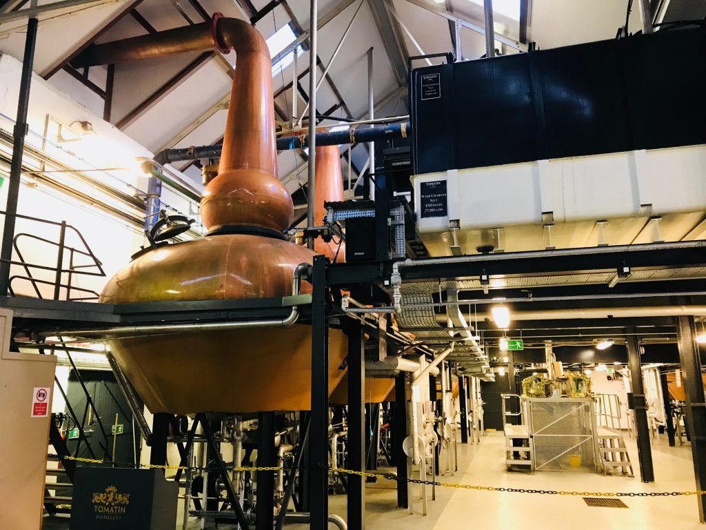 Tomatin Whisky Still
