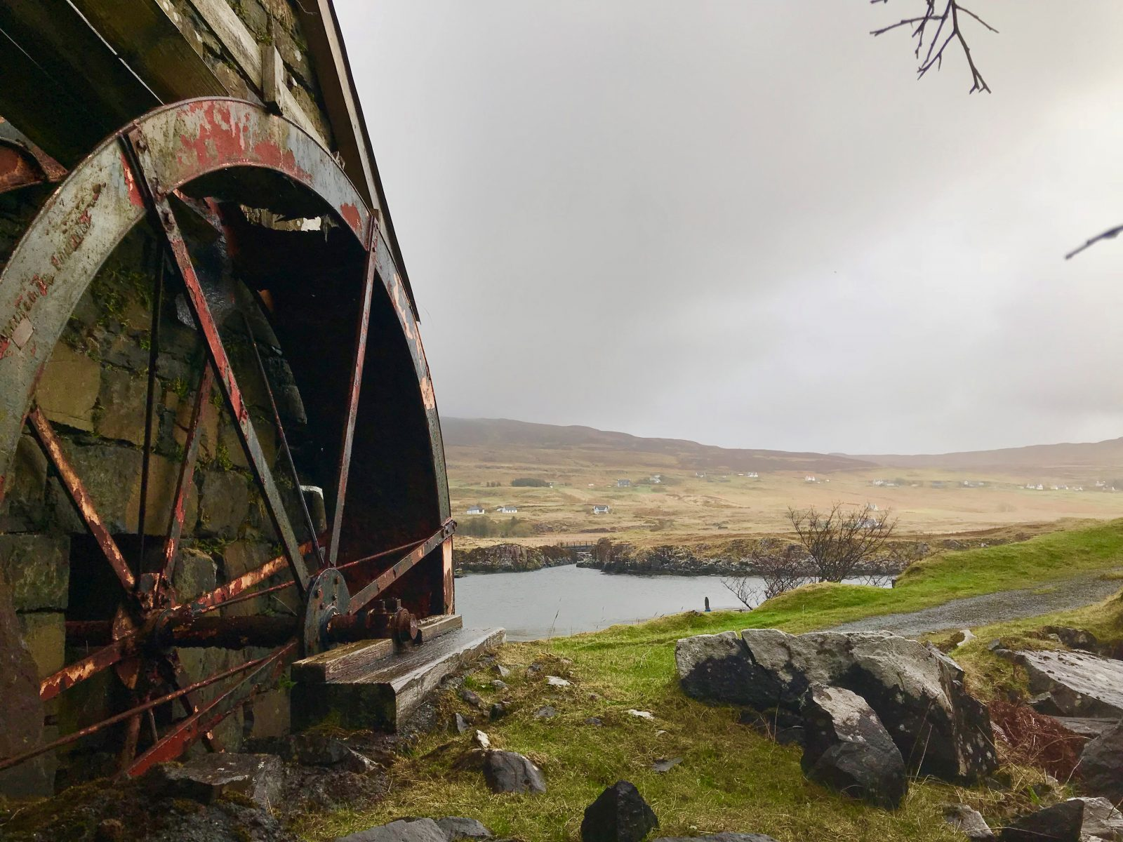 Old Waterwheel, Glendale Skye