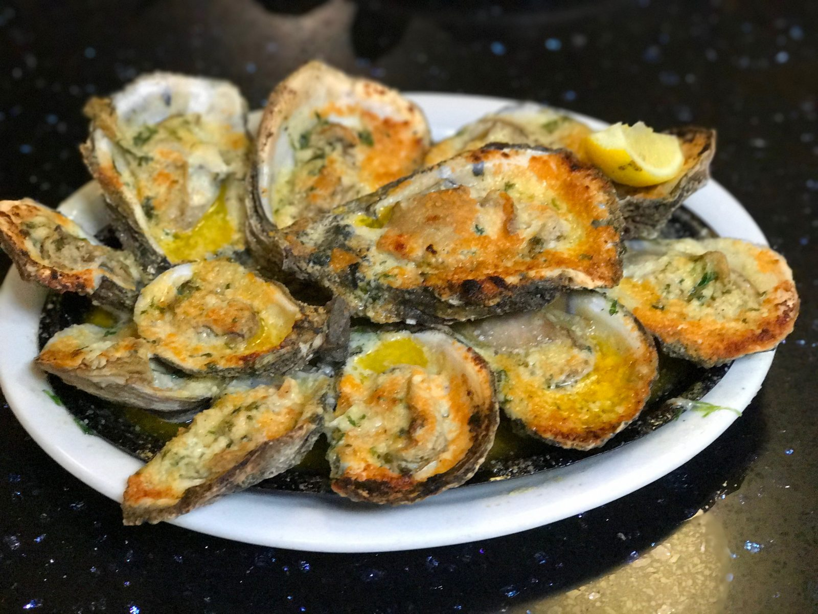 New Orleans Inspired Cheesy Grilled Oysters Recipe