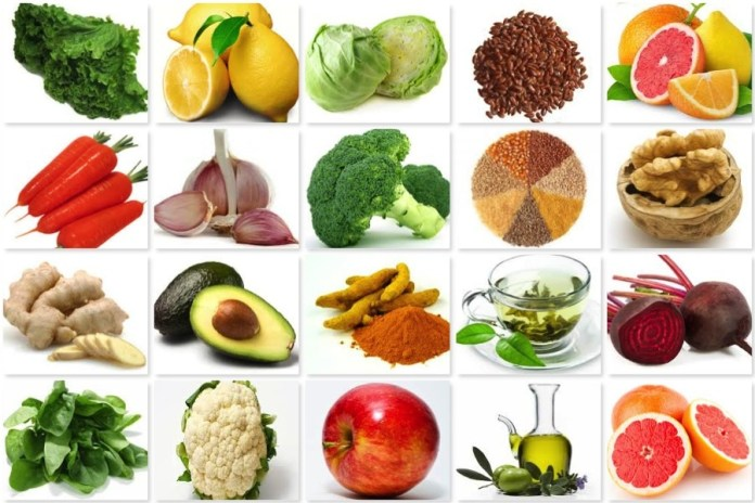 Diet foods for healthy liver