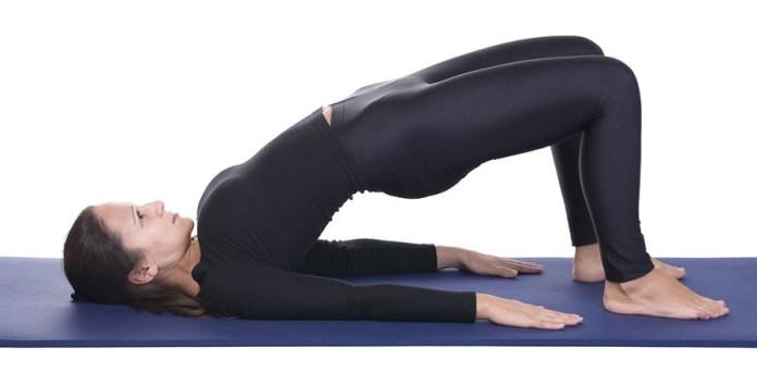 Supported-bridge-pose