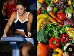 Diet and exercise for healthy heart
