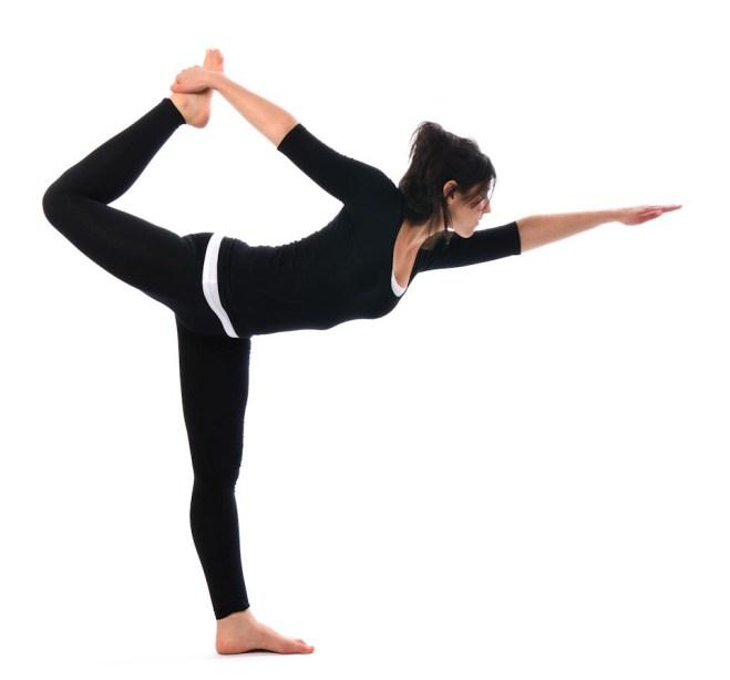 Yoga pose Natarajasana