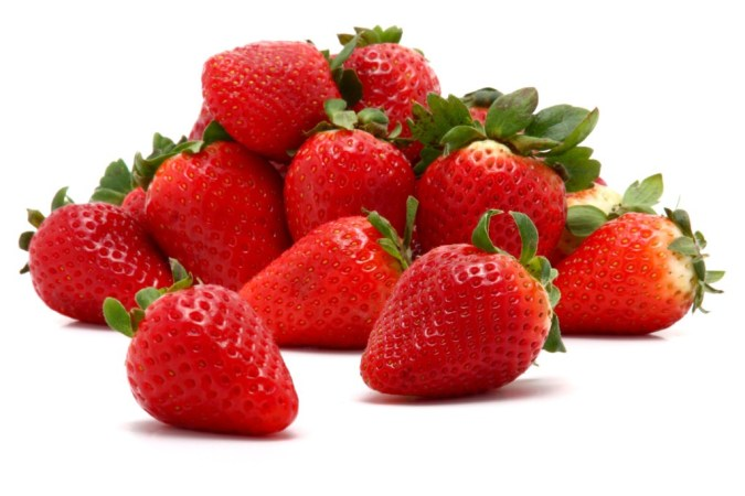 Glossy Strawberries for a good health
