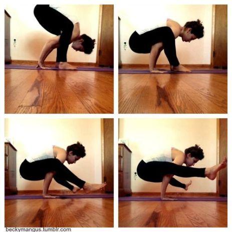 Steps for Tittibhasana Firefly pose