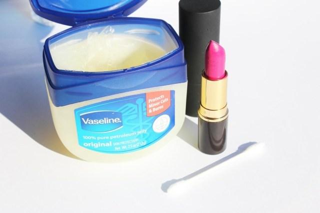 Vaseline for lips