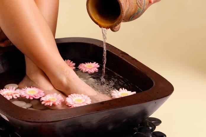 pedicure reflexology method