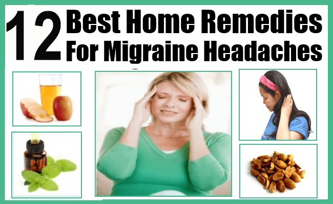 Home Remedies for Migraine Headache
