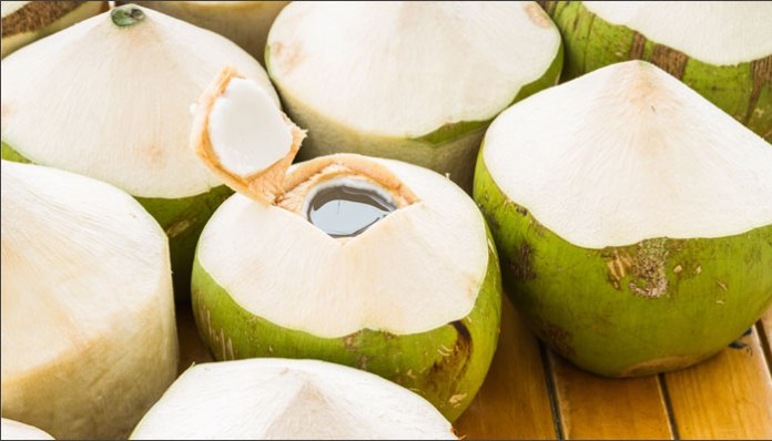 coconut water for summers
