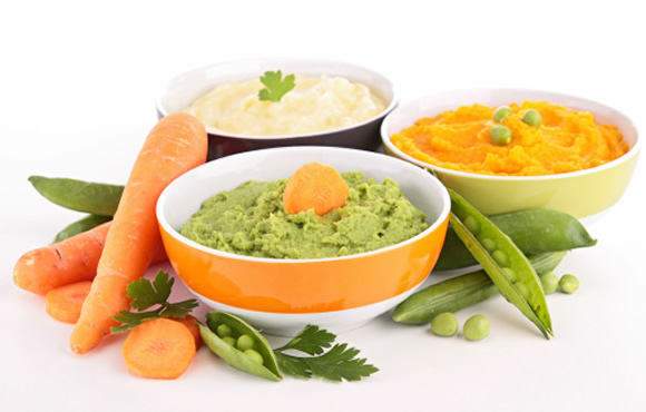 vegetable puree for kids
