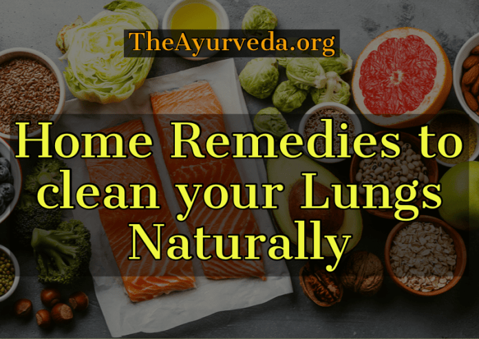 home remedies for healthy lungs