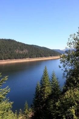 mountain and lake TWO