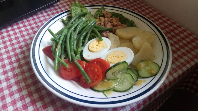a beautiful salad platter by annick