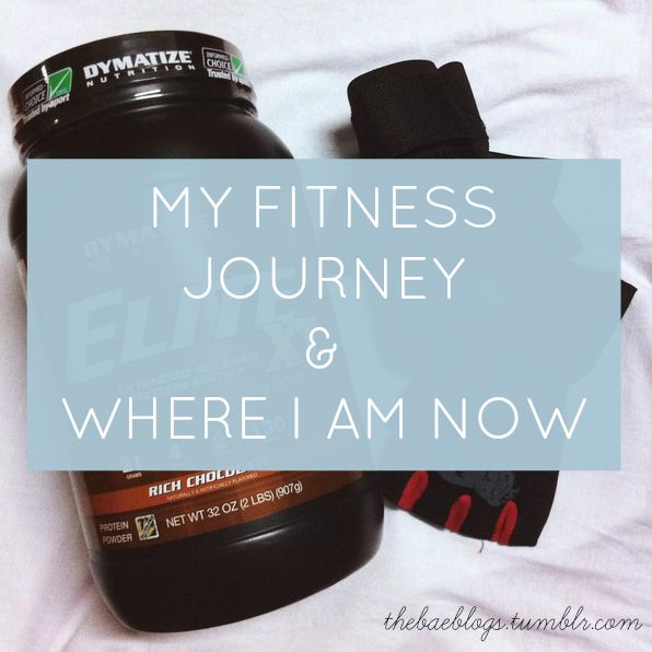 My Fitness Journey And Where I Am Now
