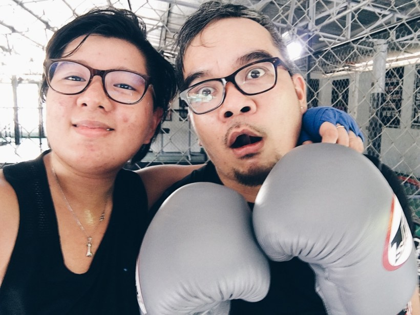 My First Ever Boxing Experience   The Bae Blogs by Bae Milanes
