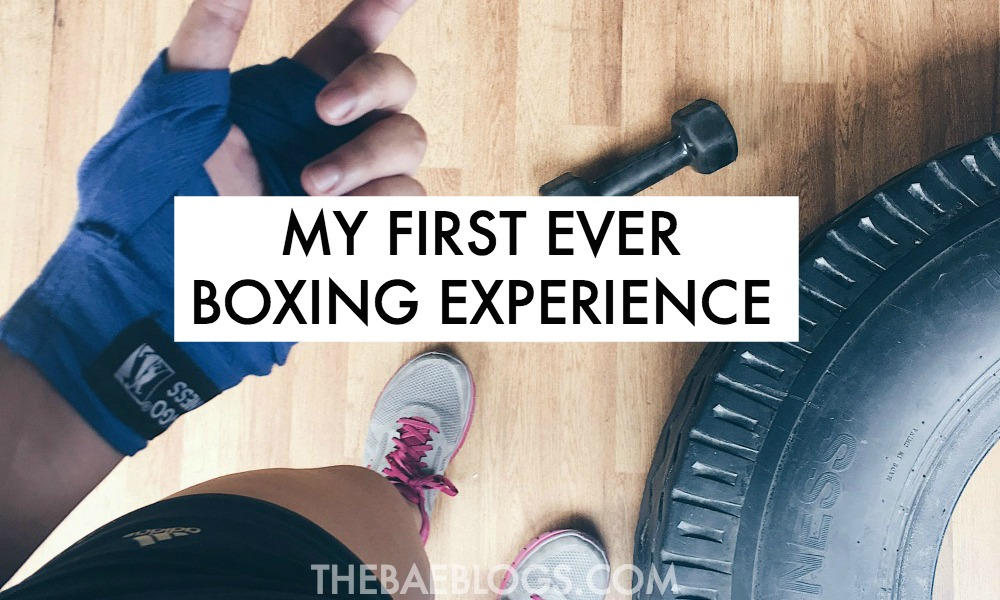 My First Ever Boxing Experience