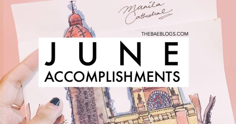 June Accomplishments