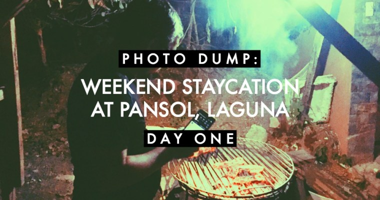 Photo Dump: Weekend Staycation at Pansol, Laguna (Day 1)