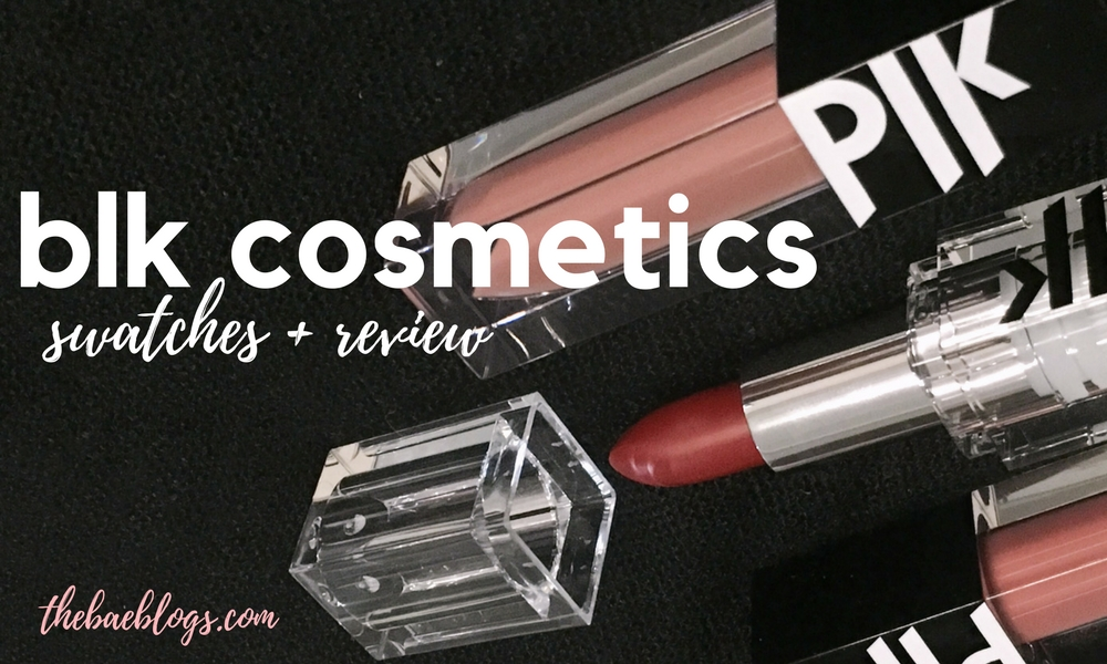 BLK Cosmetics PH Lipsticks | Swatch + Review