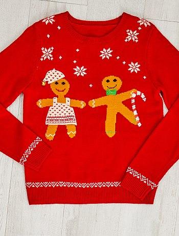 maglione natalizio omino pan di zenzero