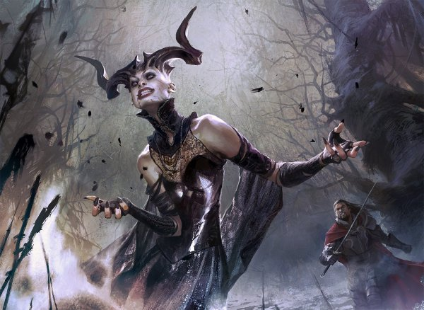 Shadows Over Magic The Gathering Innistrad Art