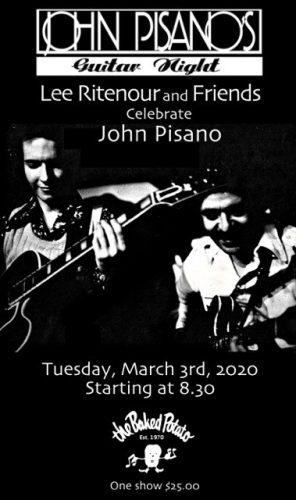 Lee Ritenour & Friends Celebrate John Pisano's Guitar Night