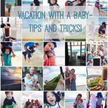 Our trip to Mexico (tips for traveling with a baby!)