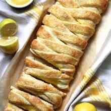 Braided Lemon Cheesecake Bread
