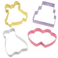 Wilton Wedding Cookie Cutter Set, 2308-1071