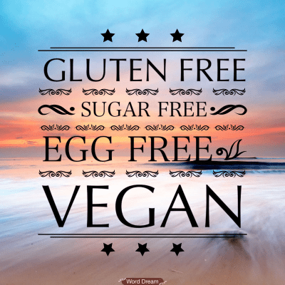 The Quest for Vegan, Sugar Free and Gluten Free Recipes!