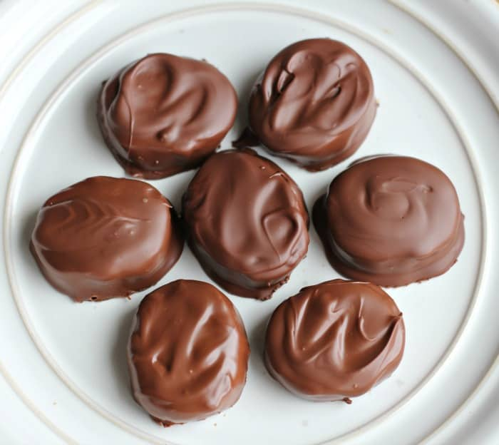 Chocolate Peanut Butter Eggs