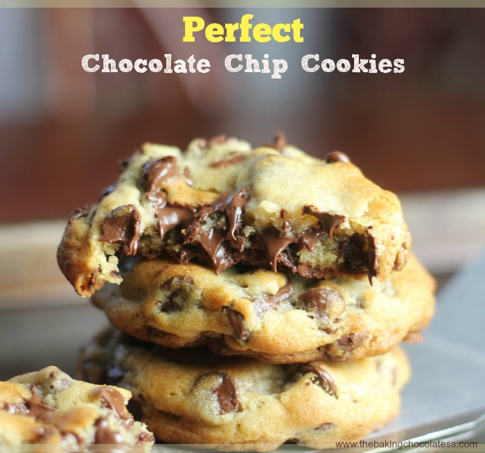 Perfect Chocolate Chip Cookies The Baking Chocolatess