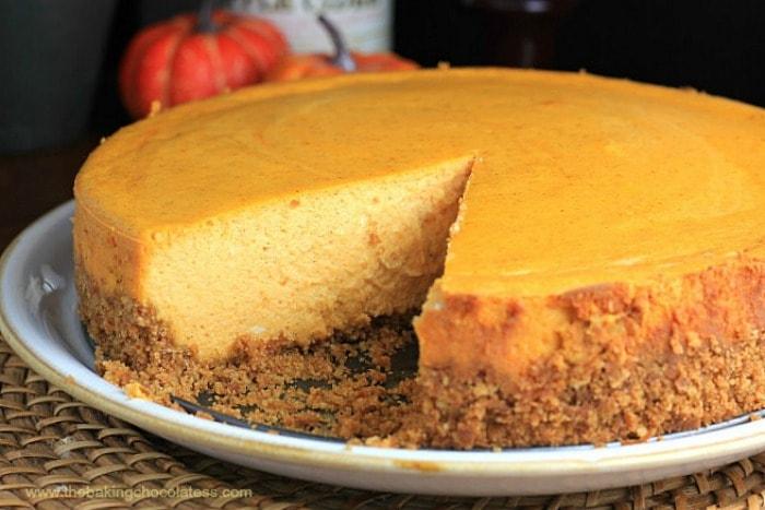 """The Great Pumpkin"" Cheesecake"