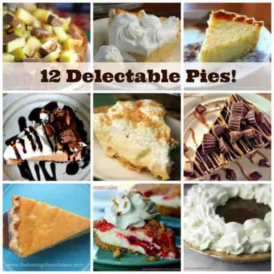 12 Delectable Pies for the Holidays!
