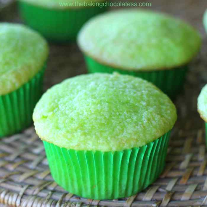 Magically Delicious 'Dew' Cupcakes