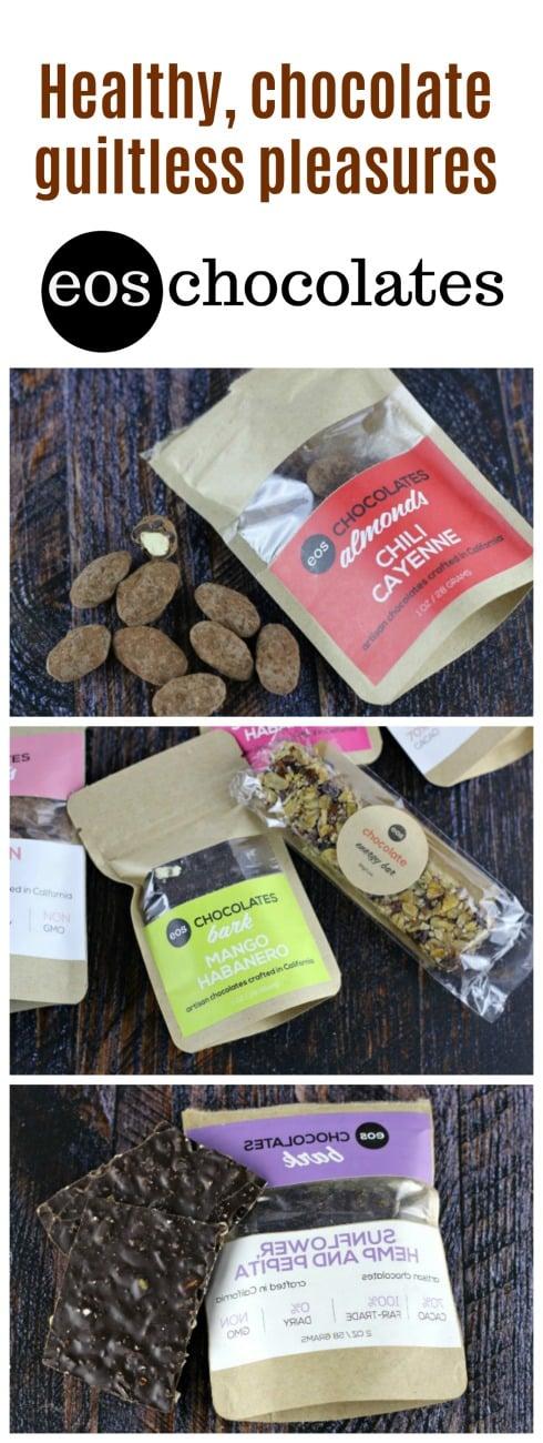 eos Chocolates  -  Healthy, chocolate guiltless pleasures!