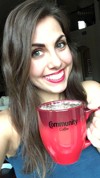 almond milk mocha with Community Coffee | The Baking Fairy #ShowYourMug #ad