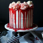 Red Velvet Marble Cake With Bloody Red Ganache The Baking Fairy