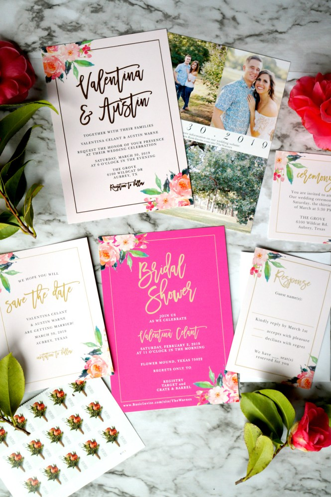 Why I Picked Basic Invite For My Wedding Invitations The