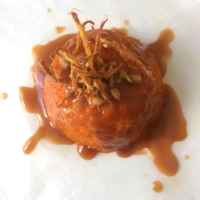 Gajar Halwa with Caramel sauce4